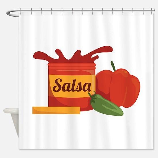 Salsa Shower Curtain