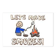 Lets Make SMORES! Postcards (Package of 8)