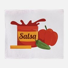 Salsa Throw Blanket