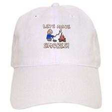 Lets Make SMORES! Baseball Cap