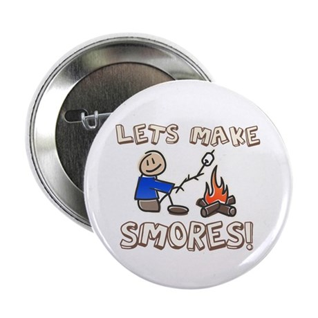 "Lets Make SMORES! 2.25"" Button (100 pack)"