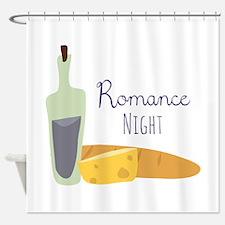 Romance Night Shower Curtain