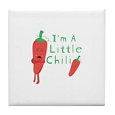 Little Chili Tile Coaster