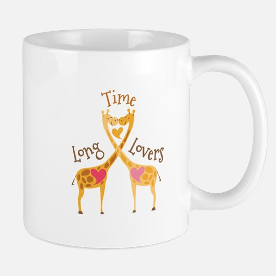 Time Long Lovers Mugs