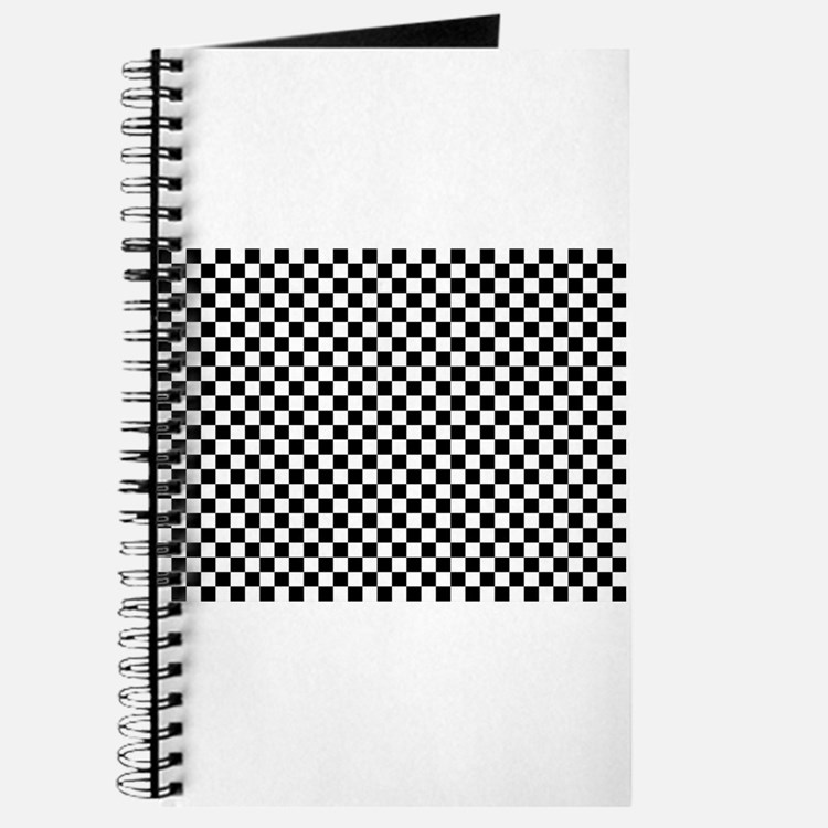 Cute Checkers Journal