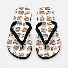 HOLIDAY PRIM Flip Flops