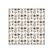 "PRETTY PRIM Square Sticker 3"" x 3"""