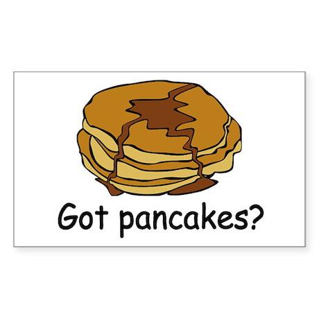 Got pancakes? Rectangle Sticker