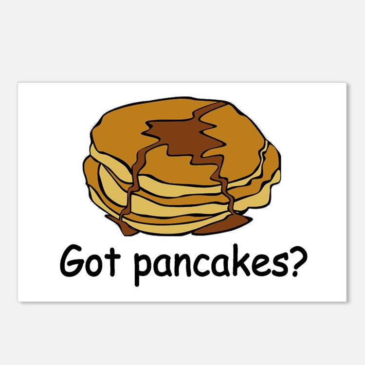 Got pancakes? Postcards (Package of 8)