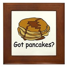 Got pancakes? Framed Tile