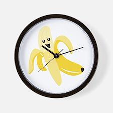 Silly Banana Wall Clock