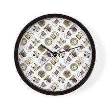 PRETTY PRIM Wall Clock