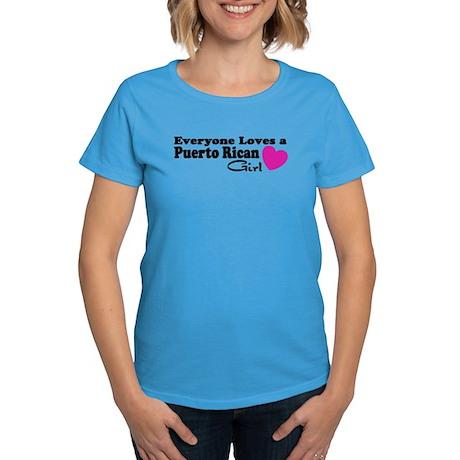 Everyone Loves a Puerto Rican Women's Dark T-Shirt