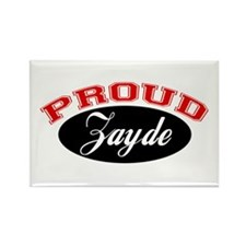 Proud Zayde Rectangle Magnet