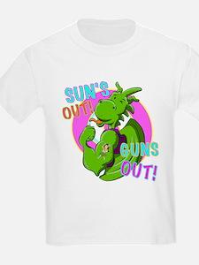 Dragon Suns Out Guns Out T-Shirt