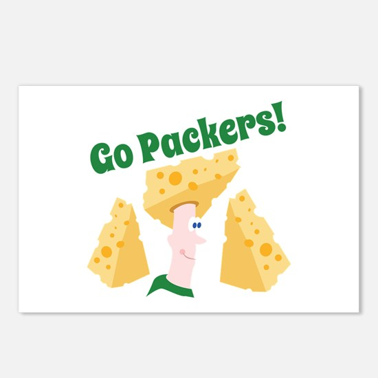 Go Packers Postcards (Package of 8)