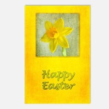 Daffodil Easter Postcards (Package of 8)