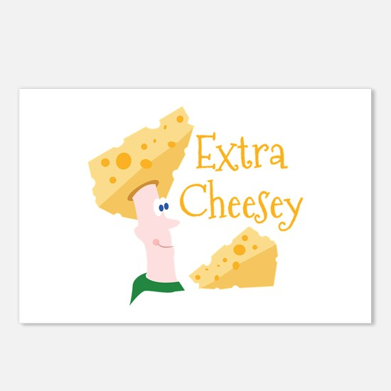Extra Cheesy Postcards (Package of 8)