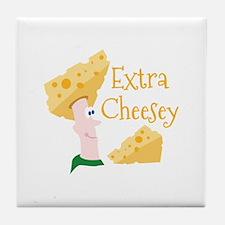 Extra Cheesy Tile Coaster