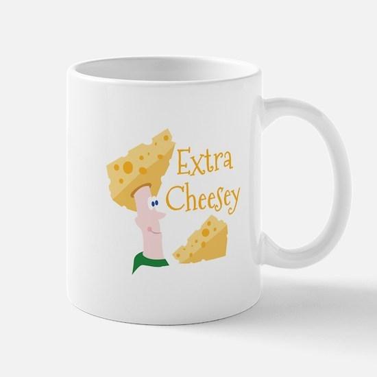 Extra Cheesy Mugs