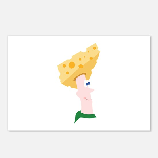 Cheese Head Postcards (Package of 8)