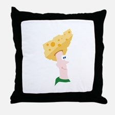 Cheese Head Throw Pillow