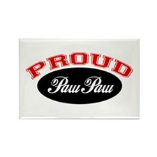 Proud Paw Paw Rectangle Magnet