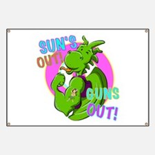 Dragon Suns Out Guns Out Banner