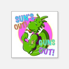 Dragon Suns Out Guns Out Sticker