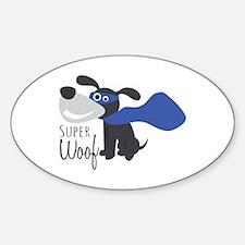 Super Woof Decal