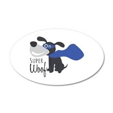 Super Woof Wall Decal