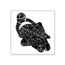 Distressed Motorcycle Racing Sticker