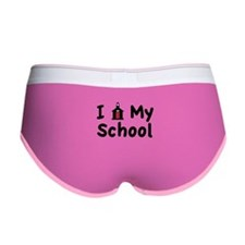 My School Women's Boy Brief