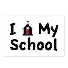 My School Postcards (Package of 8)