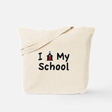 My School Tote Bag