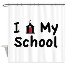 My School Shower Curtain