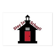 Stay In School Postcards (Package of 8)