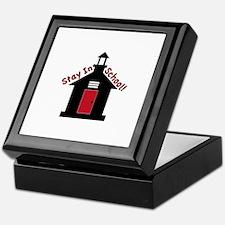 Stay In School Keepsake Box
