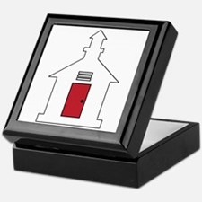 School House Keepsake Box