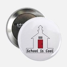 "School Is Cool 2.25"" Button (10 pack)"