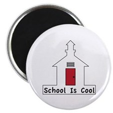School Is Cool Magnets