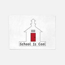 School Is Cool 5'x7'Area Rug