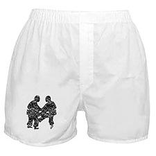 Distressed Sumo Wrestling Boxer Shorts