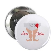 "Love Doctor 2.25"" Button (10 pack)"