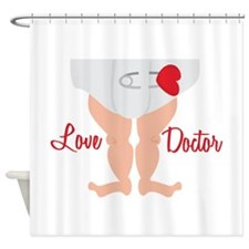 Love Doctor Shower Curtain