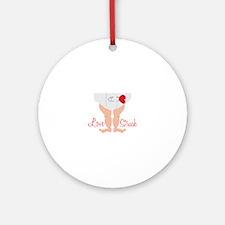 Love Struck Ornament (Round)