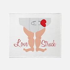 Love Struck Throw Blanket