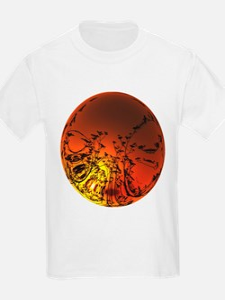 Australian Sunset Bubble T-Shirt
