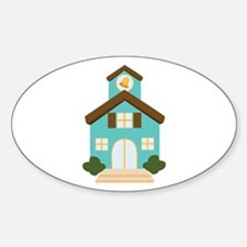 School Building Decal