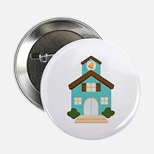 "School Building 2.25"" Button (10 pack)"